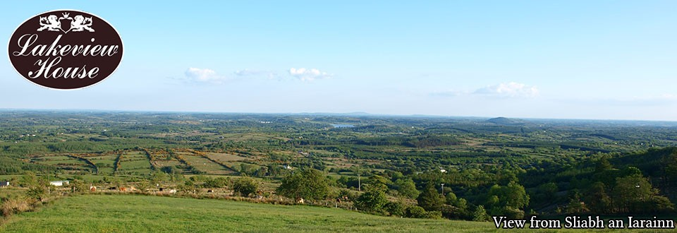 A View from Sliabh an Iarainn